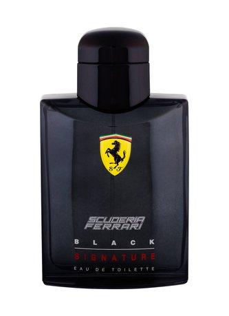 Ferrari Scuderia Ferrari Black Signature Toaletní voda 125 ml pro muže