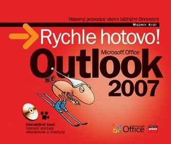 Microsoft Office Outlook 2007 + CD - Mojmír Král