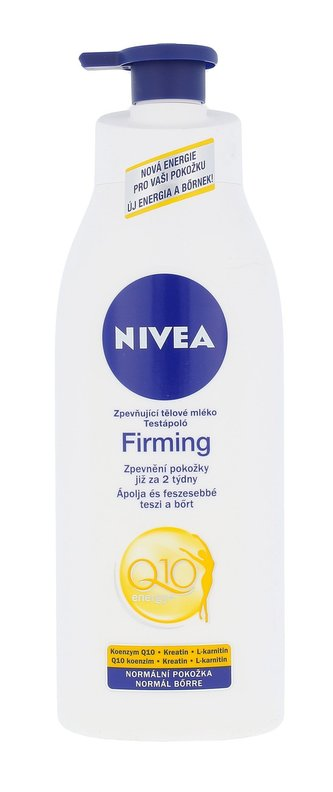 Nivea Q10 Energy+ Tělové mléko Firming Body Lotion 400 ml pro ženy