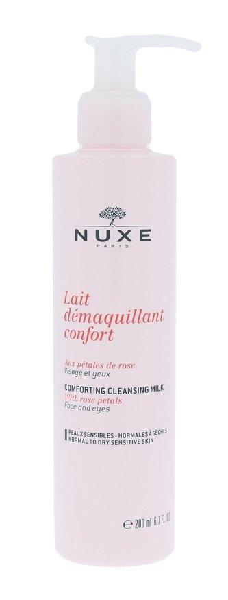 NUXE Rose Petals Cleanser Čisticí mléko 200 ml pro ženy