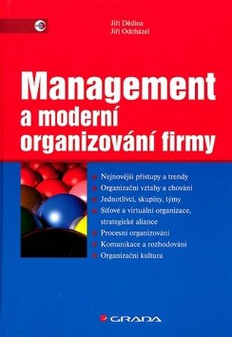 Management a moderní organizování firmy