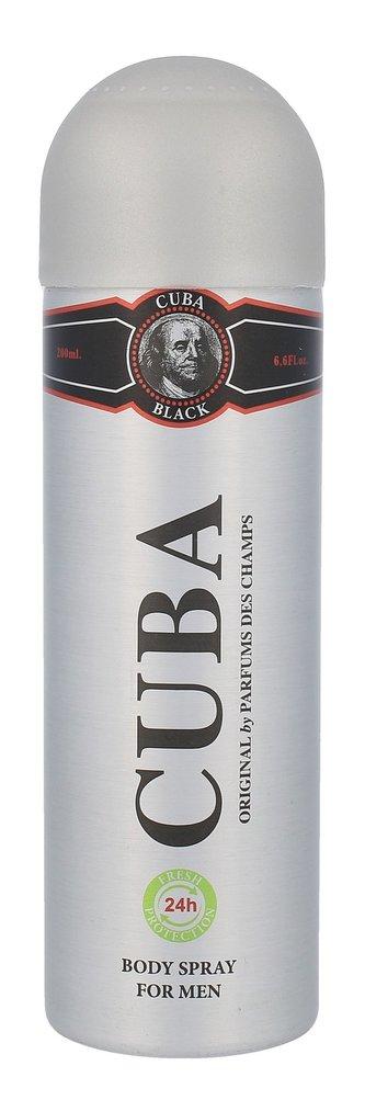 Cuba Black Deodorant 200 ml pro muže