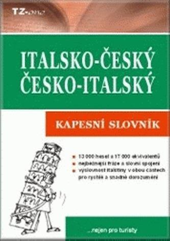 Italsko-český, česko-italský kapesní slovník