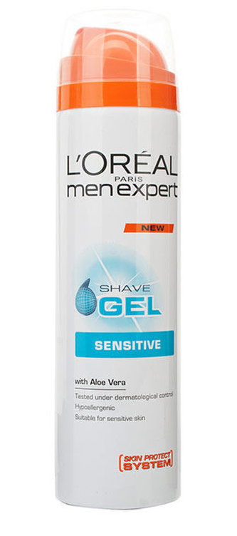 L´Oréal Paris Men Expert Gel na holení Sensitive 200 ml pro muže