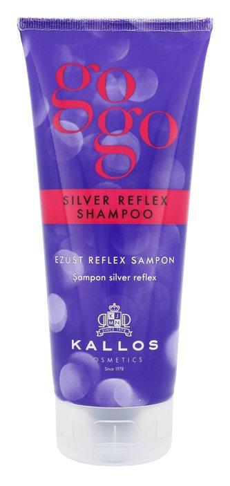 Kallos Cosmetics Gogo Šampon Silver Reflex 200 ml pro ženy