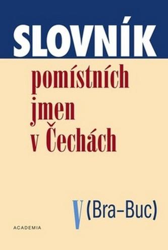 Slovník pomístních jmen v Čechách V