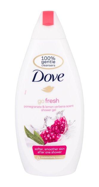 Dove Go Fresh Sprchový gel Pomegranate 500 ml pro ženy