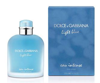 Dolce&Gabbana Light Blue Eau Intense Pour Homme Parfémovaná voda 100 ml pro muže