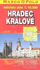 Hradec Králové-mapa