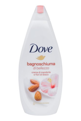 Dove Purely Pampering Pěna do koupele Almond Cream 700 ml pro ženy