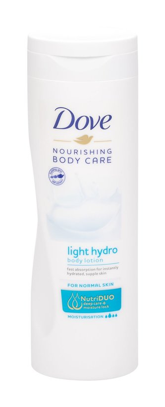 Dove Nourishing Care Tělové mléko Instant Hydration 400 ml pro ženy