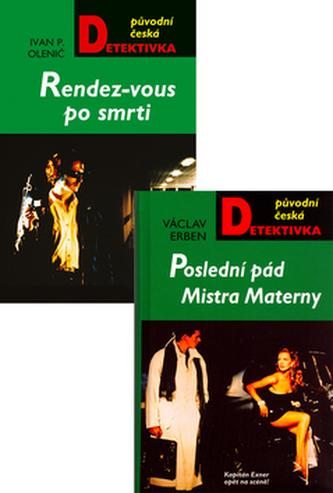 Balíček 2ks Poslední pád Mistra Materny + Randes-vous po smrti