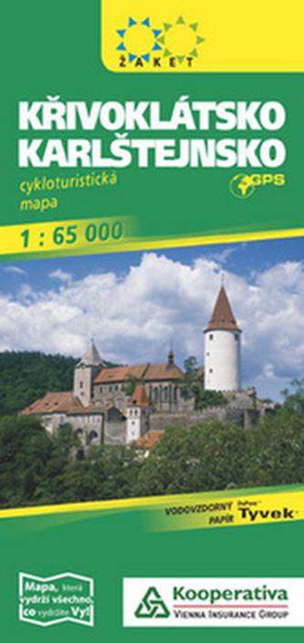 Křivoklátsko-Karlštejnsko 1: 65 000