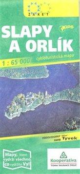 Slapy a Orlík 1: 65 000