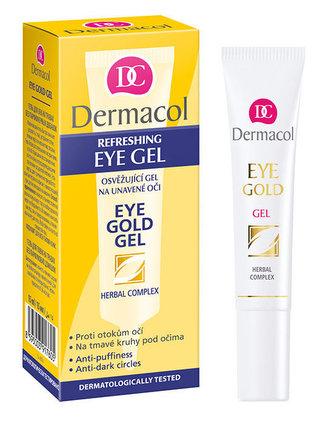 Dermacol Eye Gold Oční gel 15 ml pro ženy