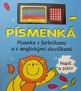 Písmenká - Písanka s farbičkami a s anglickými slovíčkami