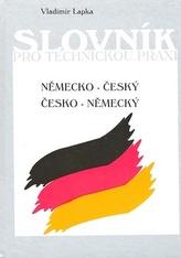 Německo - český česko-německý Slovník pro technickou praxi