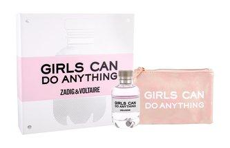 Zadig & Voltaire Girls Can Do Anything parfémovaná voda 90 ml + kosmetická taška
