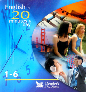 English in 20 minutes a day 1 - 6 + aktovka + 6CD