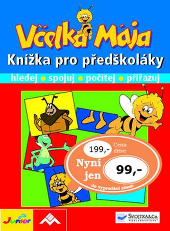 Včelka Mája Knížka pro předškoláky