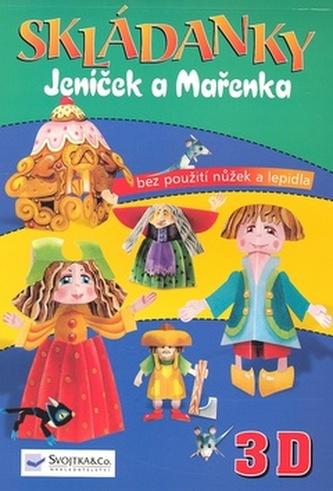 Skládanky Jeníček a Mařenka 3D