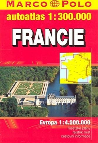 Francie atlas-sešit 1:300T
