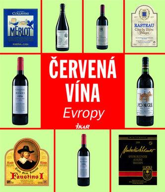 Červená vína Evropy