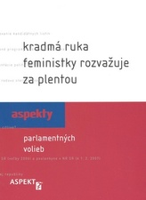 Kradmá ruka feministky rozvažuje za plentou