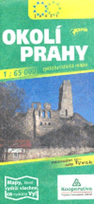Okolí Prahy 1:65 000