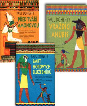 Balíček 3ks Před tváří Amonovou+Smrt Horových služebníků+Vraždící Anubis