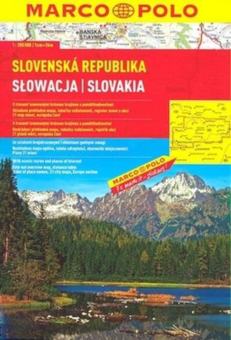 Slovenská republika 1:300 000