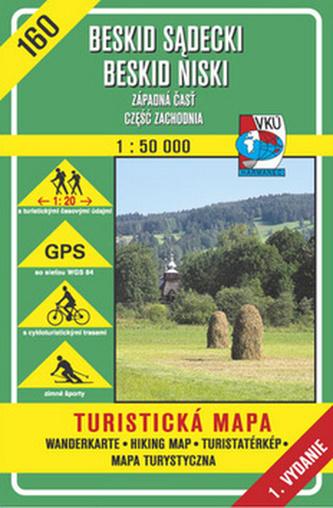 Bieszczady Bukovské vrchy 1:50 000