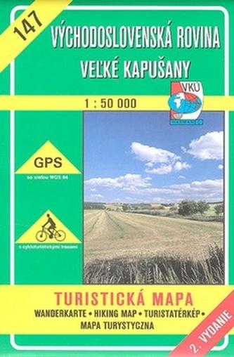 Východoslovenská rovina Veľké Kapušany 1:50 000