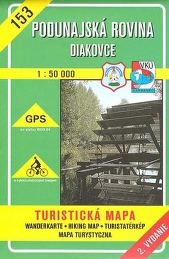 Poddunajská rovina Diakovce 1:50 000