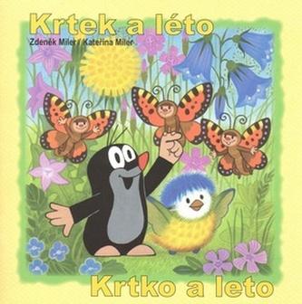 Krtek a léto - omalovánky čtverec - Miler Zdeněk