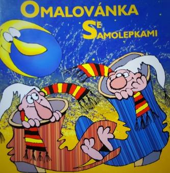 Zdeněk Smetana - omalovánka se samolepkami - Smetana Zdeněk
