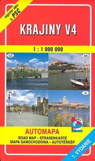 Krajiny V4 1 : 100 000