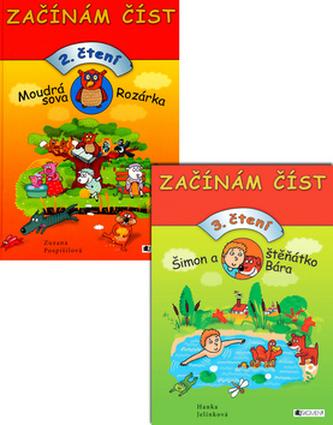Balíček 2ks Moudrá sova Rozárka + Šimon a štěňátko Bára