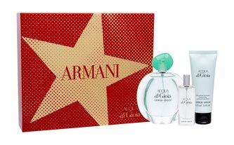 Giorgio Armani Acqua di Gioia parfémovaná voda 100 ml + tělové mléko 75 ml + parfémovaná voda 15 ml