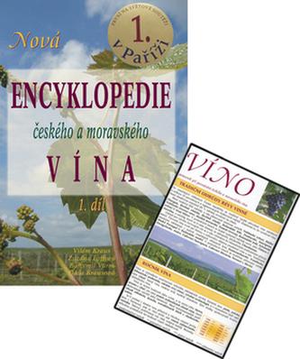 Balíček 2ks Nová encyklopedie českého a moravského vína 1.díl+Víno
