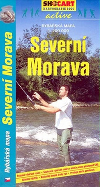 Rybářská mapa-Severní Morava 1:200T