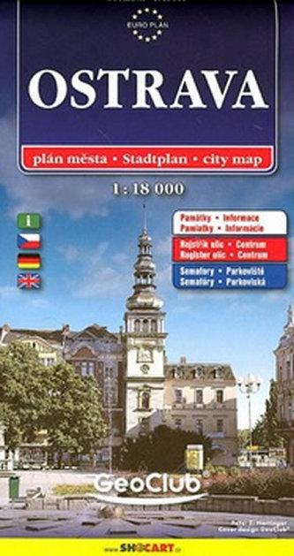 Ostrava 1:18 000