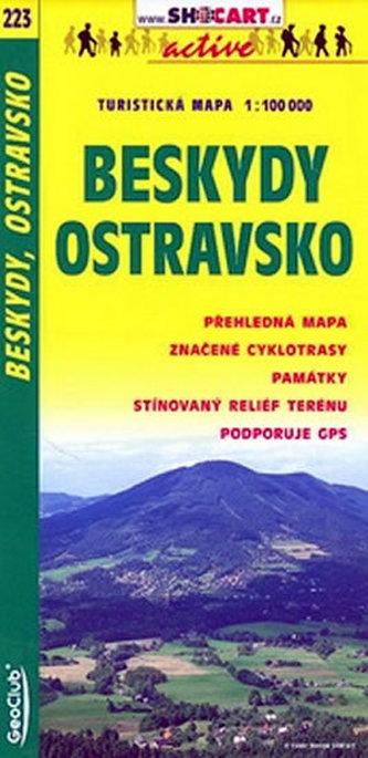 Beskydy Ostravsko 1:100 000