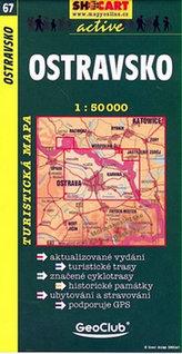 Ostravsko 1:50 000