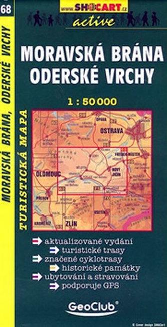 Moravská brána Oderské vrchy 1:50 000