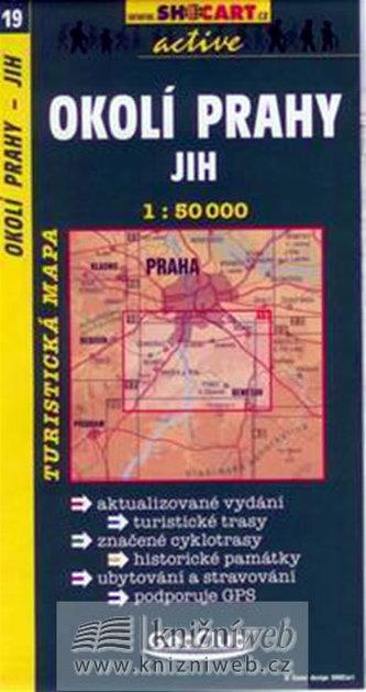 Okolí Prahy jih 1:50 000 - neuveden