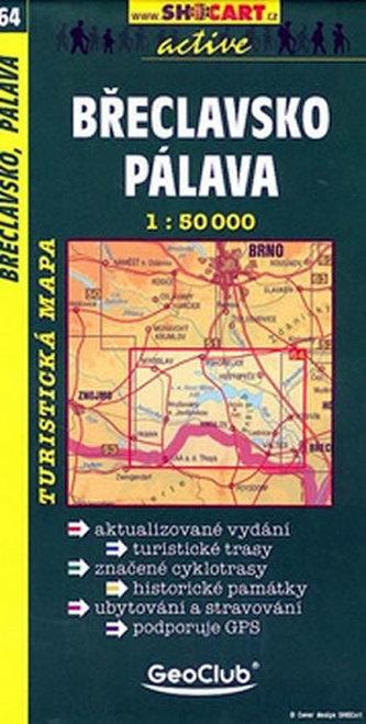 Břeclavsko Pálava 1:50 000