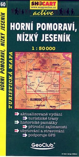 Horní Pomoraví, Nízký Jeseník 1:50 000