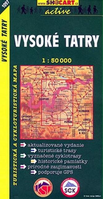 Vysoké Tatry 1:50 000