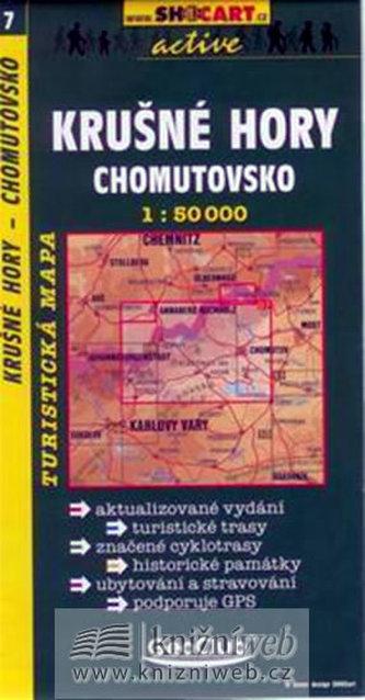Krušné hory Chomutovsko 1:50 000